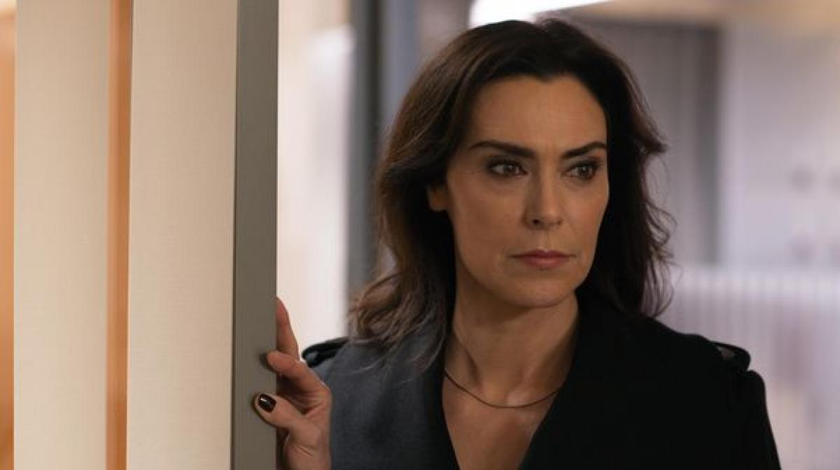 Berlin Station: Interview with Michelle Forbes who plays ... Michelle Forbes Battlestar Galactica