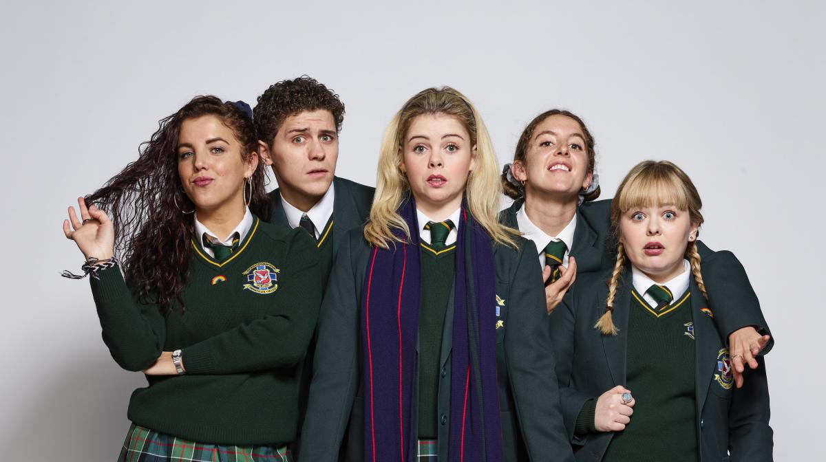 Derry Girls Crop
