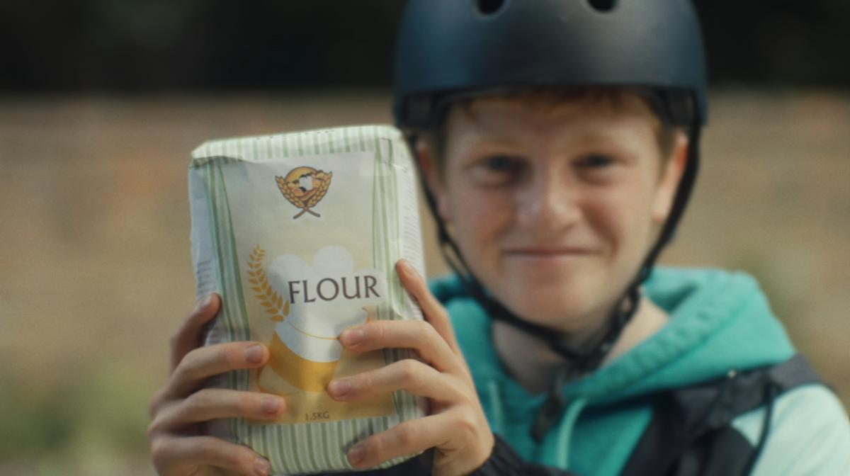 Boy And Flour