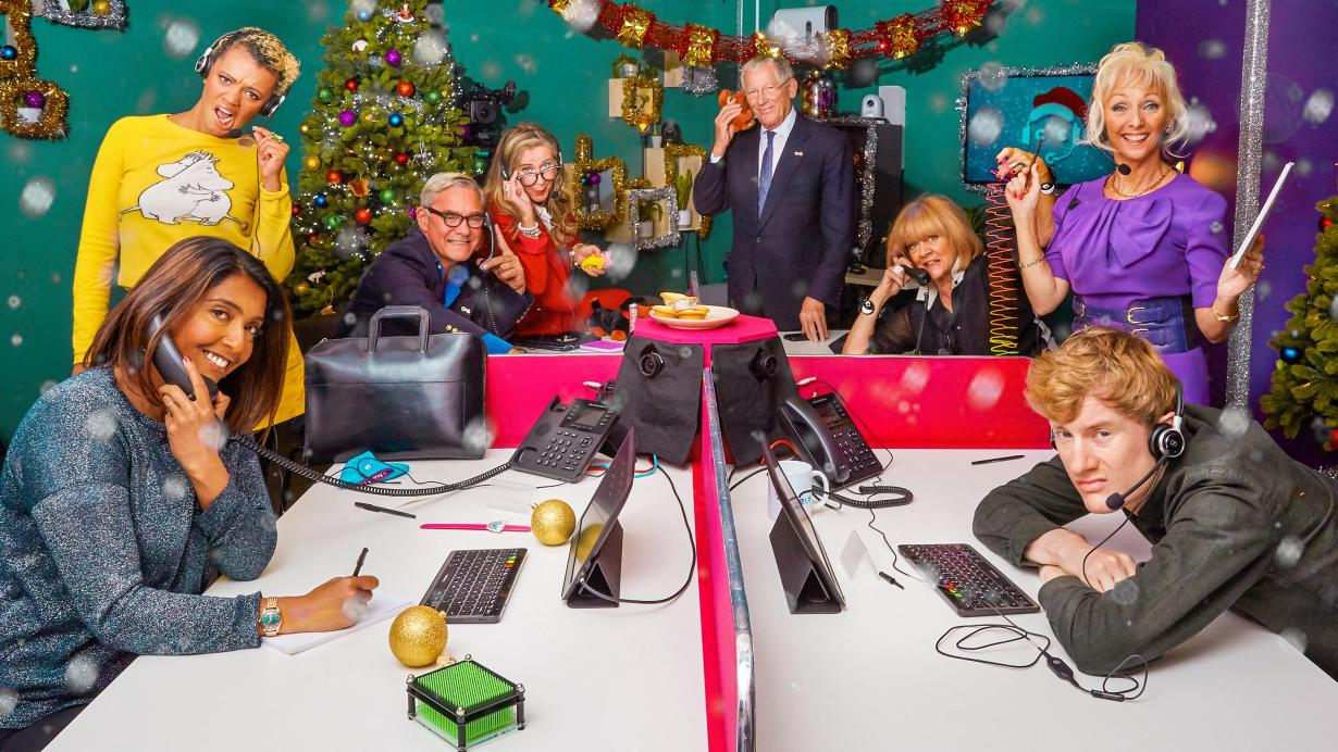 Celeb Call Centre XMAS