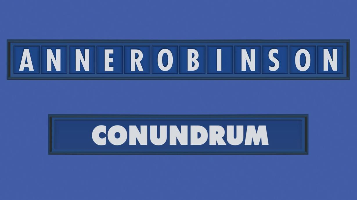 Countdown Conundrum Reveal