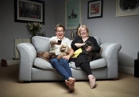Gogglebox: Stephen and Pat