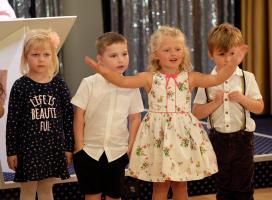 left to right: - Italiah, Scarlett, Lily and Callen.