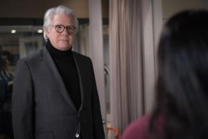 """Gang Goes To War"" -- Episode #404 -- Pictured: John Larroquette as Gavin Firth of the CBS All Access series THE GOOD FIGHT. Photo Cr: Patrick Harbron/CBS ©2019 CBS Interactive, Inc. All Rights Reserved."