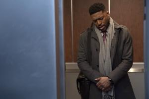 "NEW AMSTERDAM -- ""Double Blind"" Episode 215 -- Pictured: Jocko Sims as Dr. Floyd Reynolds -- (Photo by: Virginia Sherwood/NBC)"