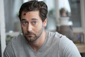 "NEW AMSTERDAM -- ""Double Blind"" Episode 215 -- Pictured: Ryan Eggold as Dr. Max Goodwin -- (Photo by: Virginia Sherwood/NBC)"