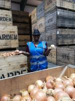 Food Unwrapped S9 Andi Oliver with Onions 70358/007