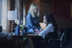 Ep4.  Rachel Skarsten and Meagan Tandy star.