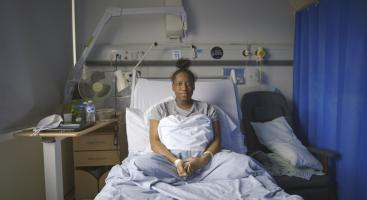 Latifah in hospital