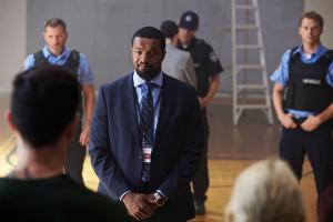 Ep1.  Det. _Mac_ McAvoy (Roger Cross) speaks to young offenders at Detention Centre.