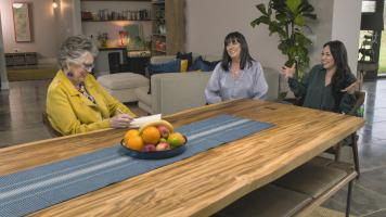 Cook Clever, Waste Less with Prue & Rupy Ep2. PRUE LEITH with TRACEY HOLMES  & DANIELLE WEBSTER