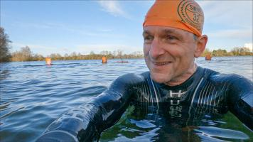 Michael Mosley 21 Day Body Turn Around - Channel 4.  Ep2 Michael takes the contributors wild swimming