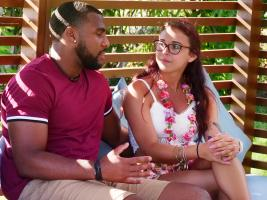 "TEMPTATION ISLAND -- ""Tonight Can Change Everything"" Episode 209 -- Pictured: (l-r) Gavin Rocker, Payton Burgess -- (Photo by: Mario Perez/USA Network)"