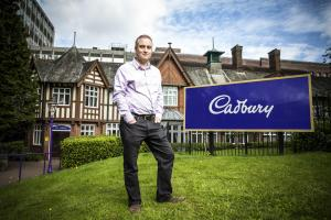 Adam Harris, Cadbury lead scientist.