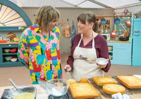 Noel with Jess Phillips baking