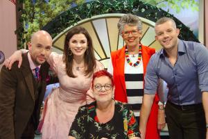 Russell Tovey, Aisling Bea and Bake Off judge Prue Leith join Jo to discuss all the excitement from the tent, with hilarious unseen clips and home-made bakes in the studio.