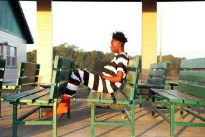 17 year old Korede from London in the jail's â¿©recreation area.