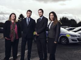 L-R Detective Sergant Natalie Golding, Detective Chief inspector Mark Glover  (Also the SIO), Detective Sergant Richard Earl and Detective Constable Jenny Chapman.