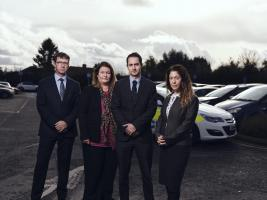 L-R Detective Chief inspector Mark Glover  (Also the SIO), Detective Sergant Natalie Golding, Detective Sergant Richard Earl and Detective Constable Jenny Chapman.