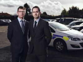 L-R Detective Chief inspector Mark Glover  (Also the SIO) and Detective Sergant Richard Earl