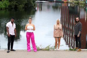 Levi Davis, Shaughna Phillips, Chloe Ferry and Pete Wicks.