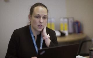 Detective Constable Donna Kay, leading one of the investigations (into the suspected rape of Trish by her husband), as part of Amberstone, Hampshire Constabulary's Rape and Serious Sexual Offences team.