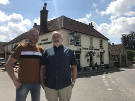 Paul and Dave, The Coach & Horses.