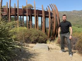 George Clarke in Chile