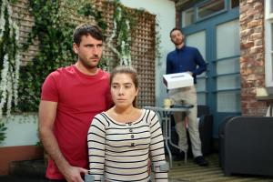 Maxine asks James to waive his legal fees to help Damon.Embargoed until 17 September