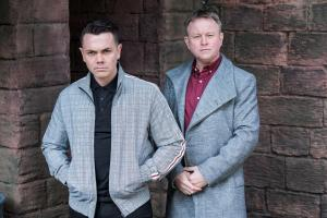 Chris Simmons and Ray Quinn