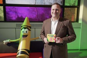 Pictured: Pete at Crayola HQ Pennsylvania, USA