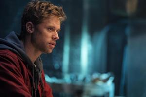 Pictured: Shaun Sipos as Adam Strange