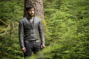 "KRYPTON -- ""Ghost in the Fire"" Episode 202 -- Pictured: Cameron Cuffe as Seg-El -- (Photo by: Steffan Hill/SYFY)"