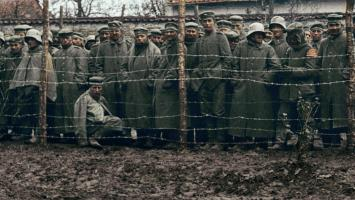 German prisoners of war detained in France after the war.
