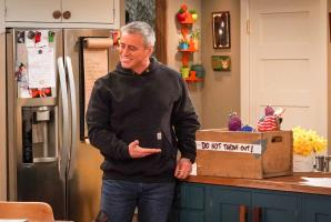 """We Don\'t Need Another Hero"" - Adam gets jealous when Teddy names Andi as his hero for a school essay, on MAN WITH A PLAN, Monday, April 15 (8:30-9:00 PM, ET/PT) on the CBS Television Network.  Pictured  Matt LeBlanc as Adam Burns  Photo: Monty Brinton/CBS ÿ¿ÿ©2018 CBS Broadcasting, Inc. All Rights Reserved"