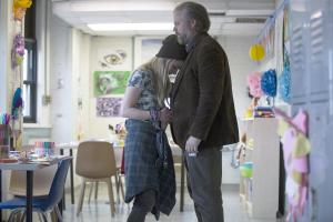 "NEW AMSTERDAM -- ""Pilot"" Episode 101 -- Pictured: (l-r) Lizzy DeClement as Jemma, Tyler Labine as Dr. Iggy Frome -- (Photo by: Francisco Roman/NBC)"