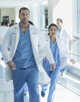 "NEW AMSTERDAM -- ""Pilot"" Episode 101 -- Pictured: Ryan Eggold as Dr. Max Goodwin Â¿ (Photo by: Francisco Roman/NBC)"