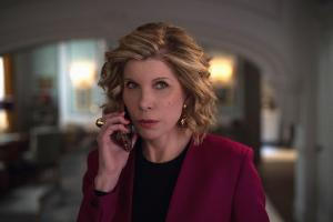 Pictured: Christine Baranski as Diane Lockhart