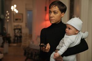 Pictured: Cush Jumbo as Lucca Quinn