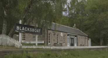 Pictured: Blacksboat Station