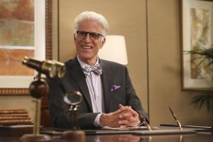 Pictured: Ted Danson as Michael